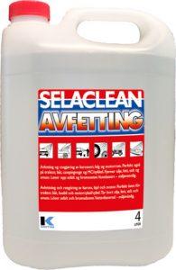 Selaclean Avfetting, 4 ltr